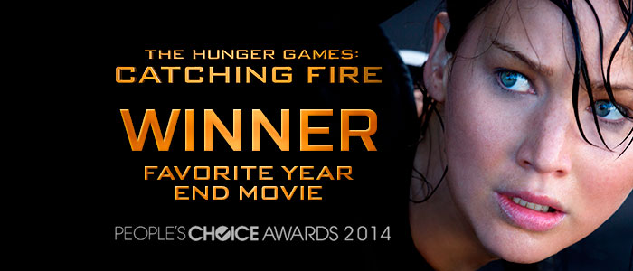 """""""Catching Fire"""" wins the People's Choice Awards"""