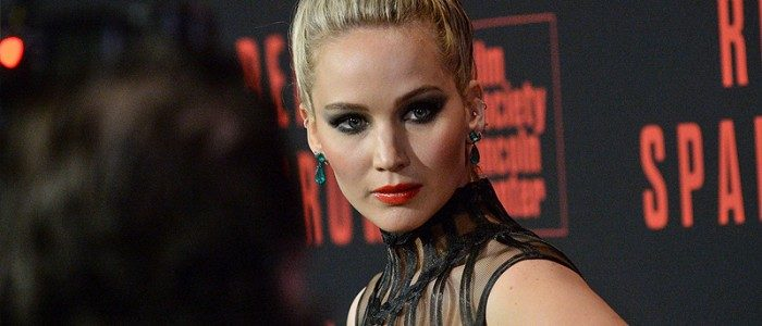 Jennifer Lawrence attends the 'Red Sparrow' premiere in New York City