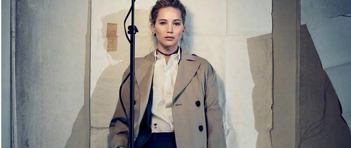 Jennifer Lawrence for Dior pre-Fall 2018