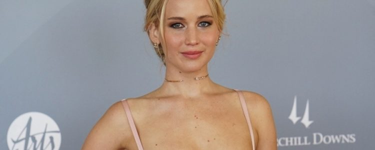 Jennifer Lawrence attends Awards in Arts ceremony at Churchill Downs