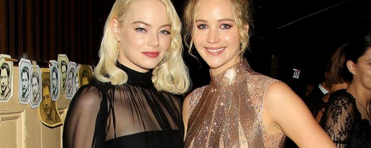 Jennifer Lawrence interviews Emma Stone