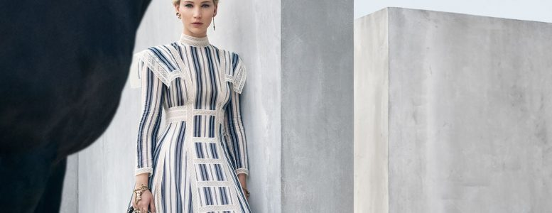 Jennifer Lawrence for Dior Cruise 2019 Campaign